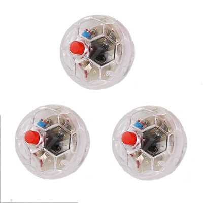 3x Ghost Hunting Motion Light Up Balls Flash Paranormal Equipment Pet Toy Motion