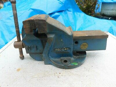 RECORD No 1 ENGINEERS / MECHANICS BENCH VICE. MADE IN ENGLAND
