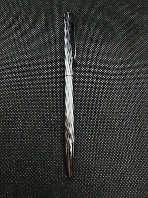 Stylo à bille Waterman couleur argent made in France RefB48