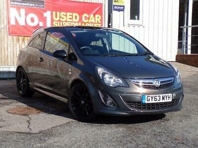 2013 Vauxhall Corsa 1.2 LIMITED EDITION Hatchback PETROL Manual