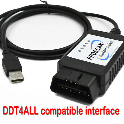 ELM327 Interface USB Cable Suitable for DDT4ALL