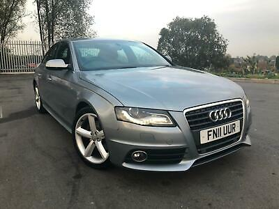 Audi A4 2.0 Tdi S Line Automatic,Hpi Clear,1 Owner,Sat Nav,Cambelt+Dsg Oil Chang