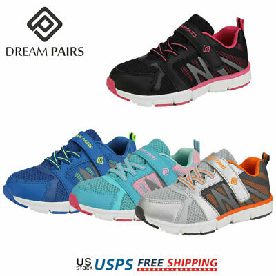 DREAM PAIRS NEW Kids Boys Girls Sporty Mesh Sneaker Walking Shoes Size 7 to 4