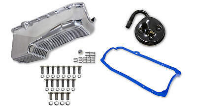 Weiand 6504FWND Weiand Aluminum Oil Pan Kit