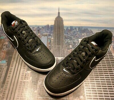 NIKE AIR FORCE 1 Low Retro NYC New York City Kith Black Size
