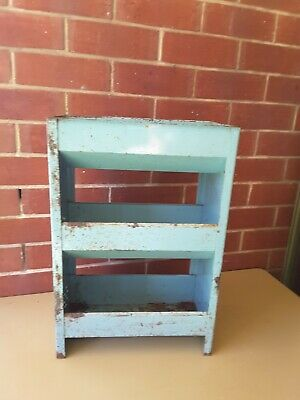 Antique Vintage Australian Metal Country Kitchen Vegetable Rack  STAND