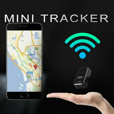 GF-07 Mini Magnetic Car Vehicle GSM GPRS GPS Tracker Locator Real Time Tracking