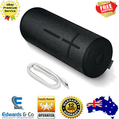 BOOM Ultimate Ears UE Portable Bluetooth Speaker 3 Case Wonder Blast Night Black