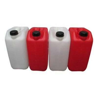 food and catering industry jerry cans antiglug approved 25 litre x 4 HOGRED®