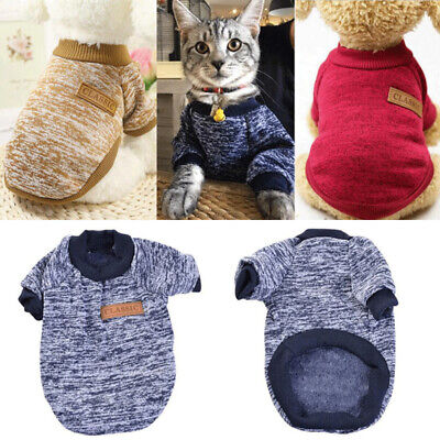 Winter Cat Dog Clothes Puppy Pet Sweater Jacket Coat For Small Dogs Chihuahua