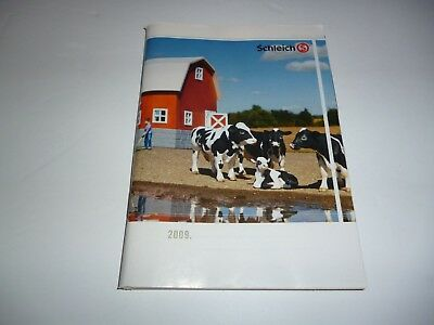 2009 Schleich Figures /Animals ,Smurfs etc  Collectors Booklet