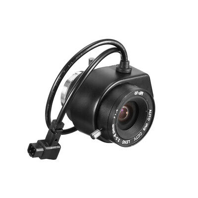 3.5-8.0mm Focal F1.4 Auto Iris CCTV Lens Wide Angle for CCD Camera