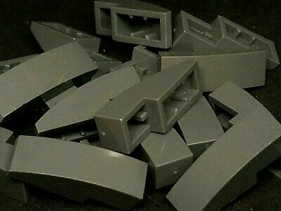 LEGO Parts 4 x Slope Curved 3 x 1 No Studs LIGHT BLUISH GREY 50950 P14