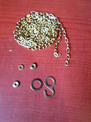 """1 New Old Stock Cuckoo Clock Weight Chain 69""""   61LPF.   (525T)"""