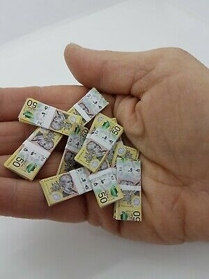 Add to Coles Little Shop - 2 Sheets of  $50 Banknotes