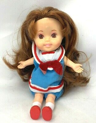 SWEETIE POPS Dress Up Doll Vintage 1986 PLAYSKOOL School Time