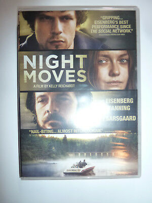 Night Moves DVD thriller movie Jesse Eisenberg Dakota Fanning 2013 NEW!