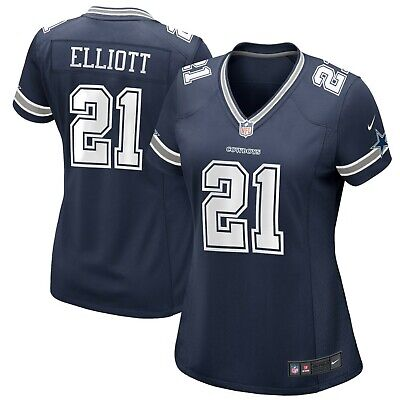 Ezekiel Elliott Dallas Cowboys Nike Women's Game Jersey - Navy
