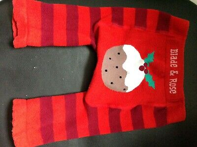 Baby Leggings 0-6 Months Blade /& Rose Rudolph Xmas Collection