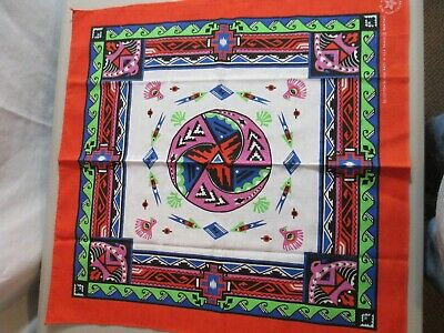 Vintage Wamcraft Southwest Native Bandanas Lot of 4 New