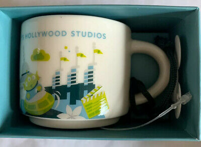 Starbucks You Are Here Hollywood Studios Disney World 2 oz Coffee Mug Ornament