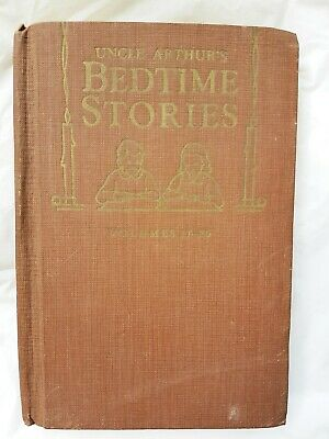 Uncle Arthur's Bedtime Stories volumes 17-20, 1940 hardcover book