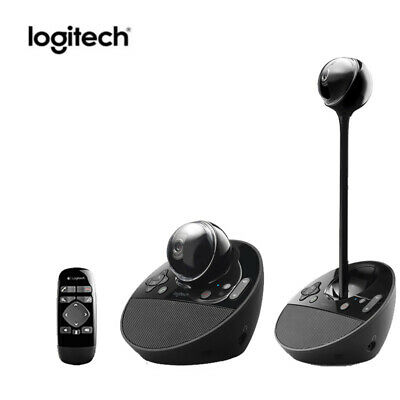 Logitech BCC950 Conference Camera Built-in Speaker Mic for PC Mac Webcam System