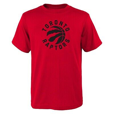 NBA Kinder T-Shirt Toronto Raptors Primary Basketball Tee Youth Outerstuff