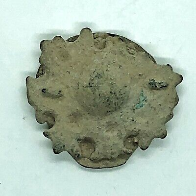 Authentic Ancient Pendant Fragment Artifact Jewelry Roman Byzantine European Old