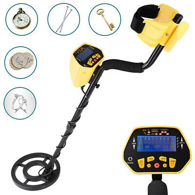 Metal Detector Deep Sensitive Searching Gold Silver Digger Treasure Hunter LCD