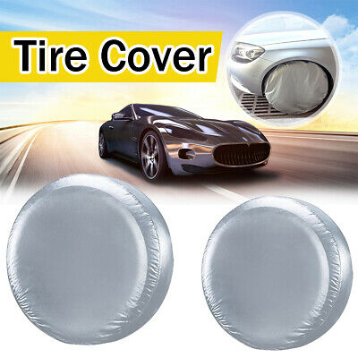 DSstyles Tire Cover 30 inch Spare Wheel Cover Tyre Cover for Car Tyre Protector Black