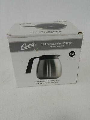 Curtis 1.9 Liter Seamless Pourpot Vacuum Insulated Coffee Pot - New-In-Box
