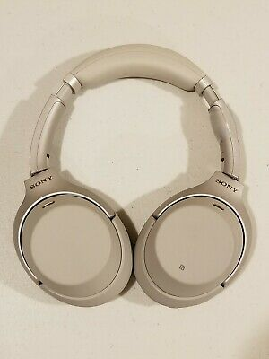 Sony WH1000XM3/S Wireless Bluetooth Noise Canceling Stereo Headphones  - Silver