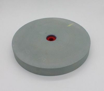 """6""""x1"""" 80Grit  Bench Pedestal Lapidary Glass Green Silicon Carbide Grinding Wheel"""