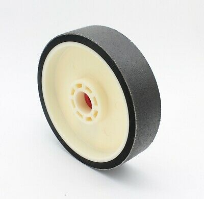 "8""X2"" 280Grit Diamond Lapidary Glass Grinder Polisher Resin Soft Grinding Wheel"