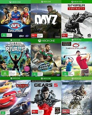 Xbox One Games - Choose Your Own Titles *Free Next Day Post from Sydney*