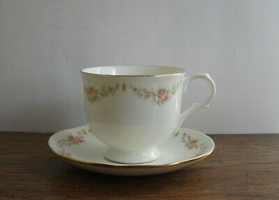 Elizabethan Garland Cup And Saucer..
