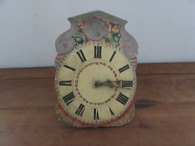 Antique Movement of Pendulum Cuckoo Foret Noire