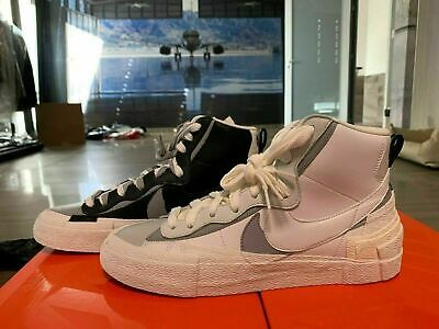 Top Sneakers X Blazer Mid Sacai Nike High Trainers c3A5jLq4R