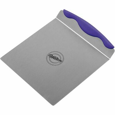 Wilton Stainless Steel Cake Lifter with Non-Slip Handle 8 x 8 x 1 ½ inches