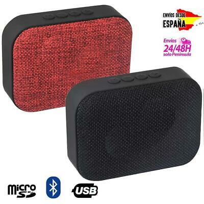 Mini altavoz bluetooth inalámbrico para Android iPhone USB micro SD