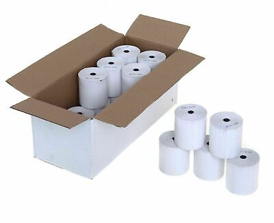 57mm x 40mm Thermal Paper Till Rolls for Streamline Credit Card PDQ Machine