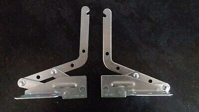 2pcs Acrylic Box Case Hinge Doll House Hinges Repair Replacement 45x38mm