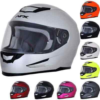 AFX FX-99 Solid Mens Street Riding Cruising Motorcycle Helmets
