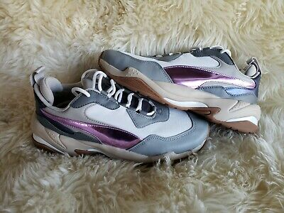 Puma Thunder Electric # 367998 01 White Pink Lavender Cement Women SZ 5-12