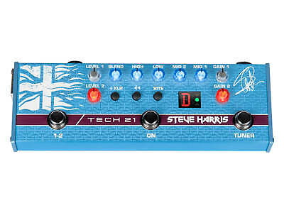 Tech 21 Steve Harris Signature Sansamp Bass Guitar Preamp Pedal IN STOCK!!