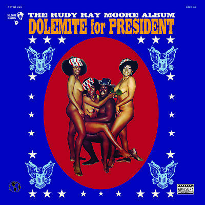 Rudy Ray Moore - 'Dolemite For President' (Vinyl LP Record)