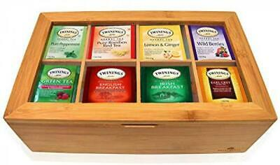 Twinings Tea Bags Sampler Assortment Box - 80 COUNT - Perfect Variety Pack in B
