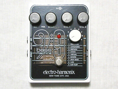 New Electro Harmonix EHX Bass 9 Bass Machine Guitar Effects Pedal