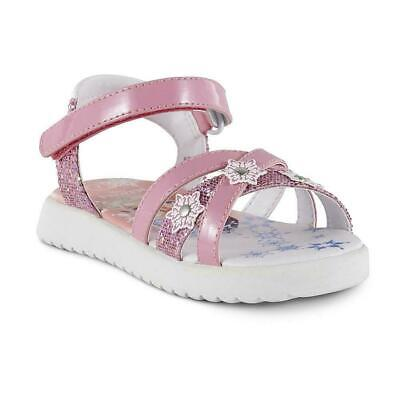 Disney Toddler Girls Frozen Character Pink Sandals Size 11 #12888 New in Box